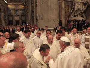 Incontro con Papa Francesco della Diocesi di Bergamo - 3 Giugno 2013